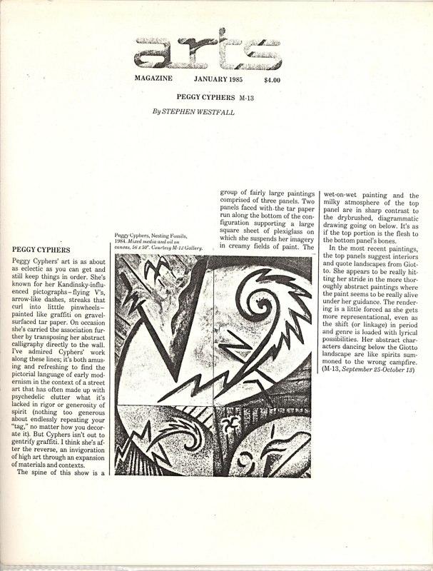 1985 Arts Magazine