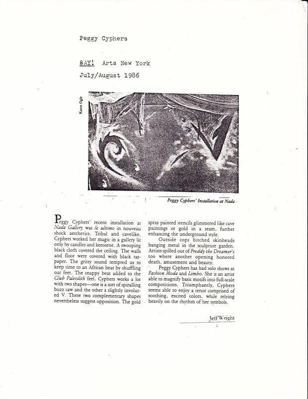 1986 Say! Arts