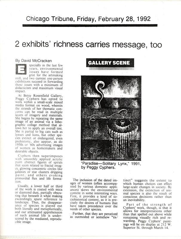 1992 Chicago Tribune