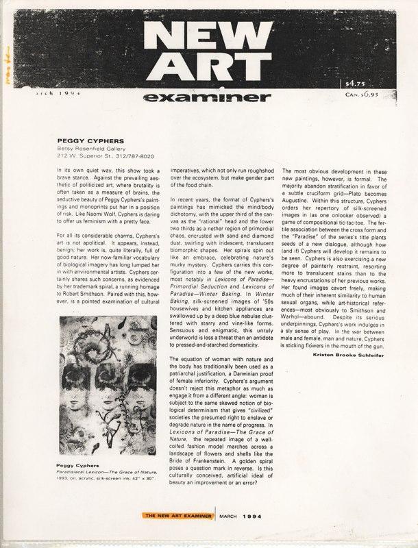 1994 New Art Examiner